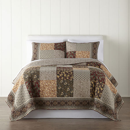 JCPenney Home Miranda Quilt, One Size , Multiple Colors