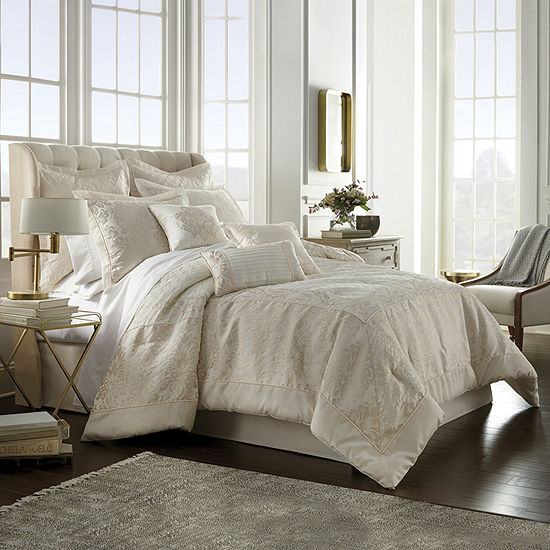 Stratton 7-pc. Jacquard Comforter Set