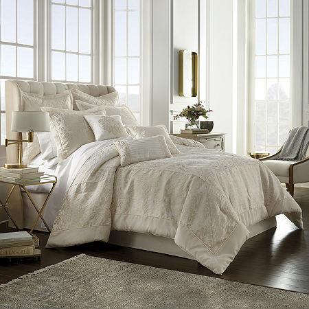Stratton 7-pc. Jacquard Comforter Set, One Size , White