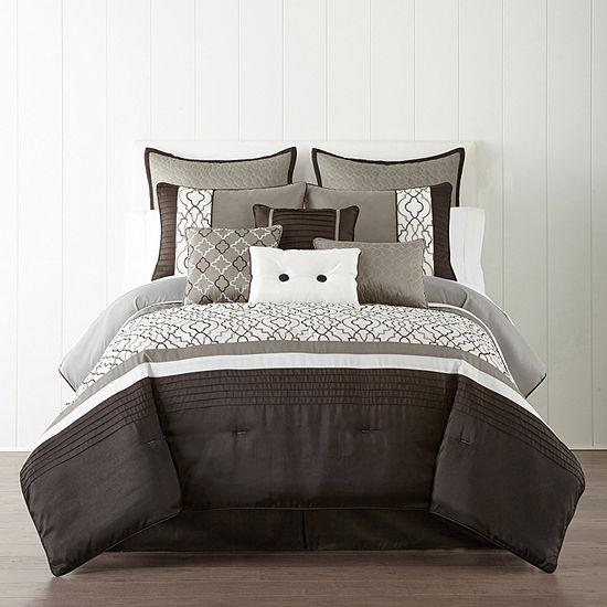 Home Expressions™ Reagan 10-pc. Comforter Set
