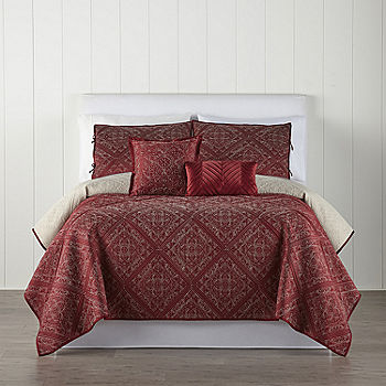 Home Expressions Andora 5-Piece Quilt Set (Any Size)