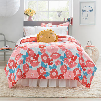 Frank And Lulu Maeve Floral Midweight Reversible Comforter Set