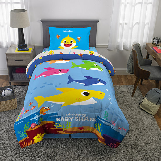 Baby Shark Complete Bedding Set with Sheets