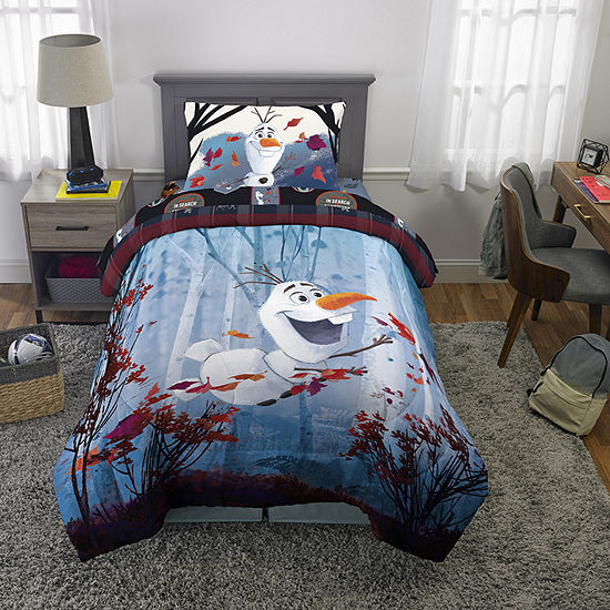 Disney Frozen Olaf's Adventure 4-pc. Complete Bedding Set with Sheets