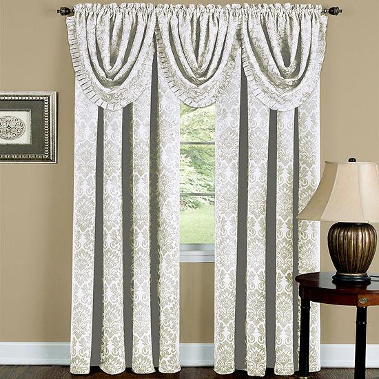 Sutton Blackout Rod-Pocket Single Curtain Panel