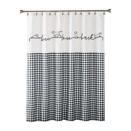 Saturday Knight Farmhouse Dogs Shower Curtain