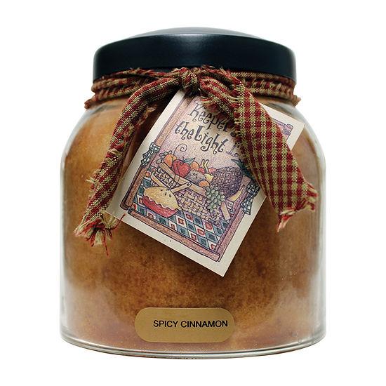 A Cheerful Giver 34oz Papa Spicy Cinnamon Jar Candle