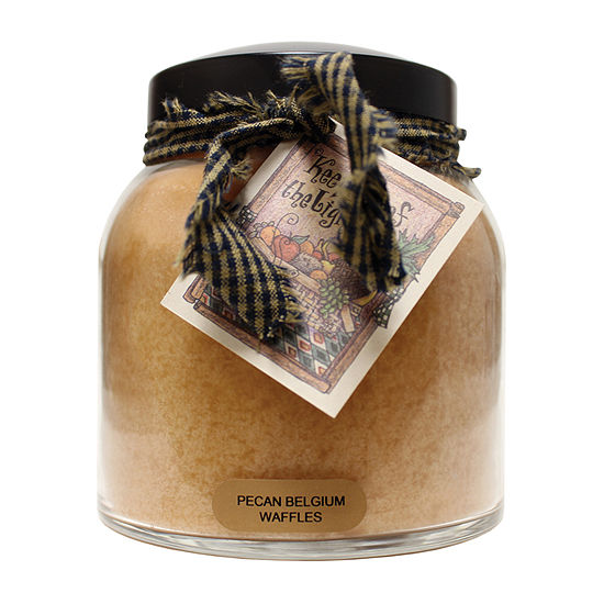 A Cheerful Giver 34oz Papa Pecan Belgium Waffles Jar Candle