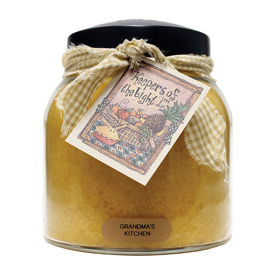 A Cheerful Giver 34oz Papa Grandma's Kitchen Jar Candle