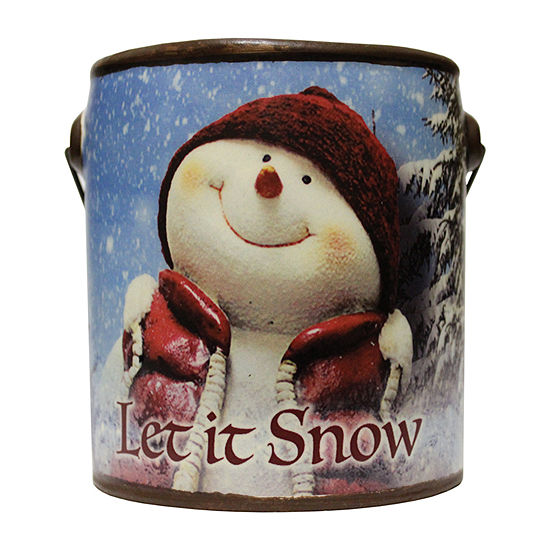 A Cheerful Giver Farm Fresh Let It Snow Jar Candle