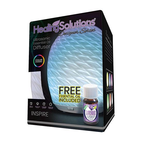 Healing Solutions Inspirer  + Lavender Oil Diffuser