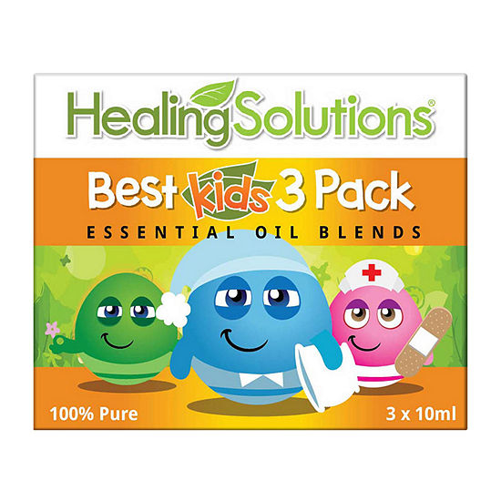 Healing Solutions Best Kids 3 - Tame Pain; Soothe; Sleep Essential Oil