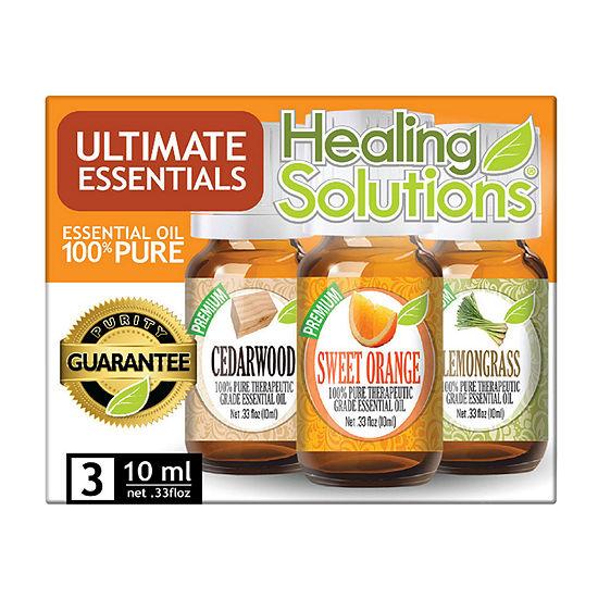 Healing Solutions Ultimate 3 - Cedar; Orange; Lemon Essential Oil