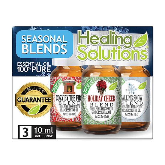 Healing Solutions Season Blends 3 - Cozy; Hol Cheer; Snow Essential Oil