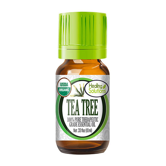 Healing Solutions Organic Tea Tree Essential Oil
