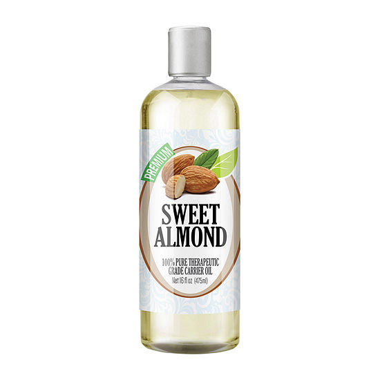 Healing Solutions Sweet Almond Carrier 16oz Essential Oil