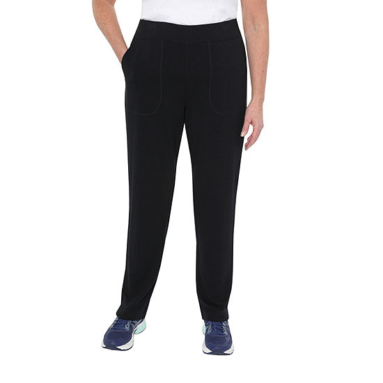 St. John's Bay Active Womens Straight Pull-On Pants