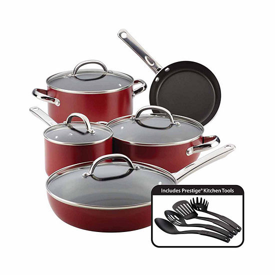 Farberware 13-pc. Aluminum Non-Stick Cookware Set