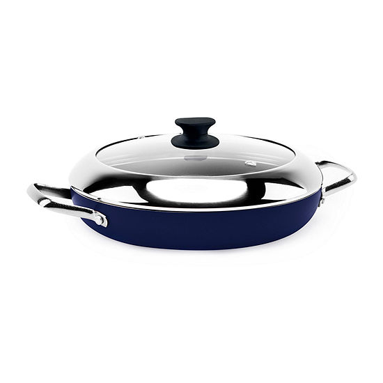 Blue Diamond Infused Grill Genie Aluminum Non-Stick Grill Pan