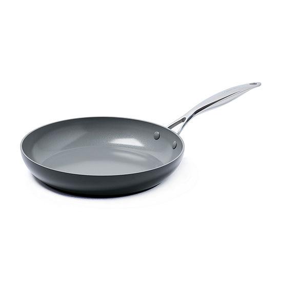 "GreenPan Valencia Pro 12"" Frypan Aluminum Dishwasher Safe Hard Anodized Frying Pan"