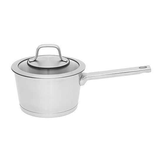 """BergHOFF 6.25"""" 18/10 Stainless Covered Sauce Pan Stainless Steel Sauce Pan"""