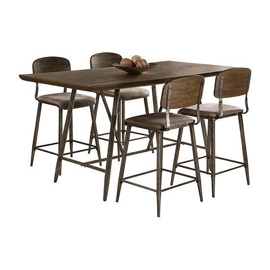 Adams 5-Piece Counter Dining Set