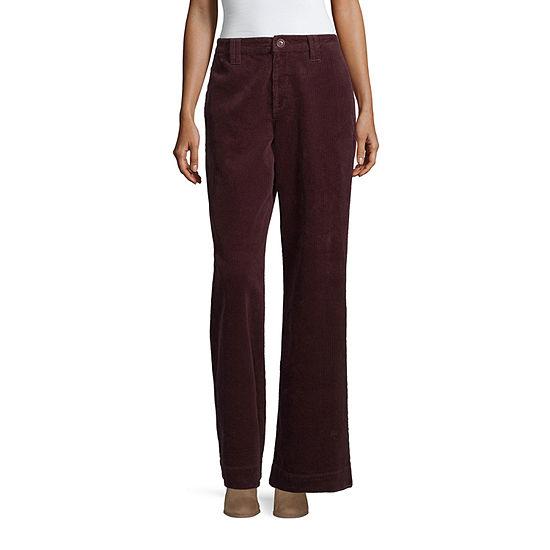 a.n.a Womens High Waisted Wide Leg Corduroy Pant