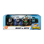 Hot Wheels Monster Trucks 1:64 4-Pack Ast Vehicles