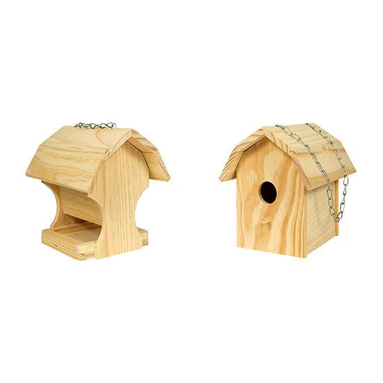 Homewear Diy Combo Bird House And Feeder