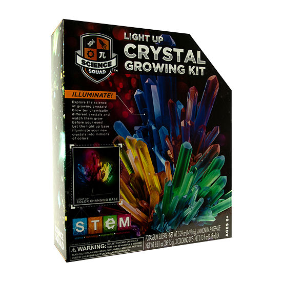 Rms Light Up Crystal Growing Kit