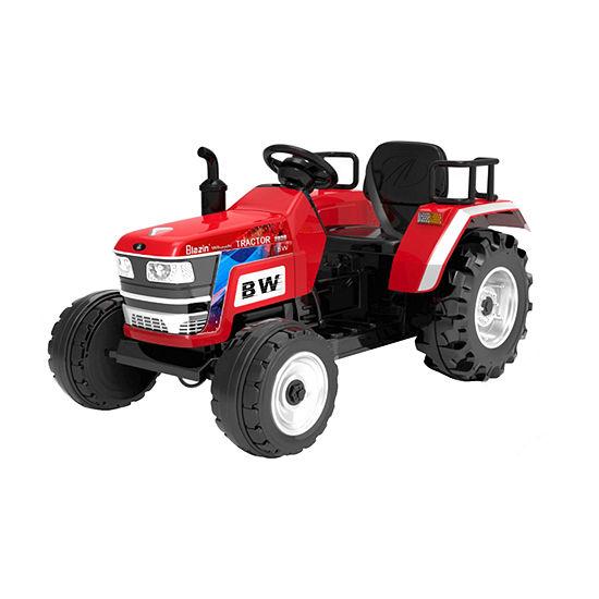 Blazin Wheels 12v Red Tractor