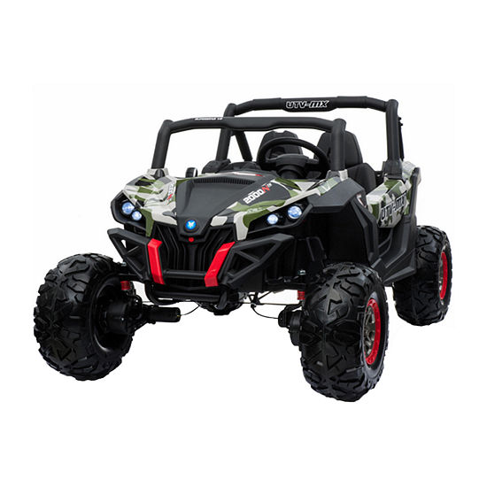 Blazing Wheels 12v Cross Car- Green Camo