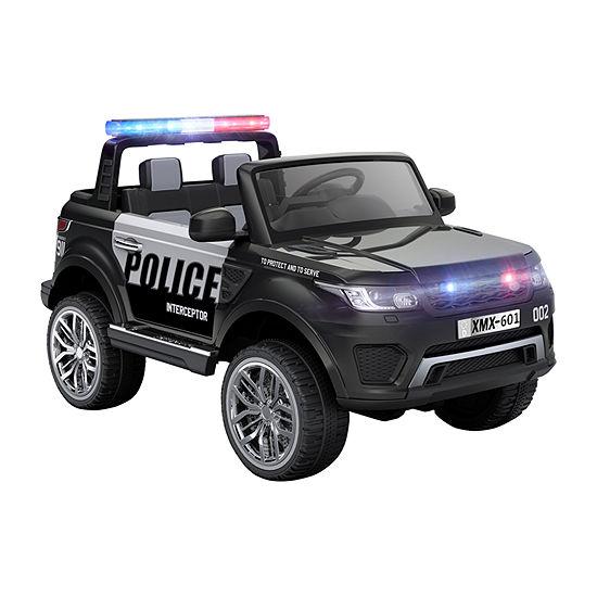 Blazin Wheels 12v Police Car