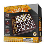 Homewear 10 In 1 Multi Wood Game Set