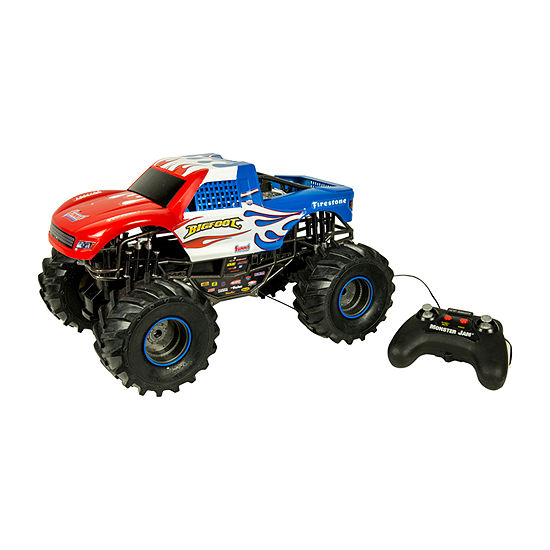 New Bright Scale Rc Big Foot Monster Truck
