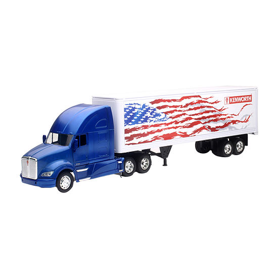 New Ray Kenworth T700 Container Patriotic