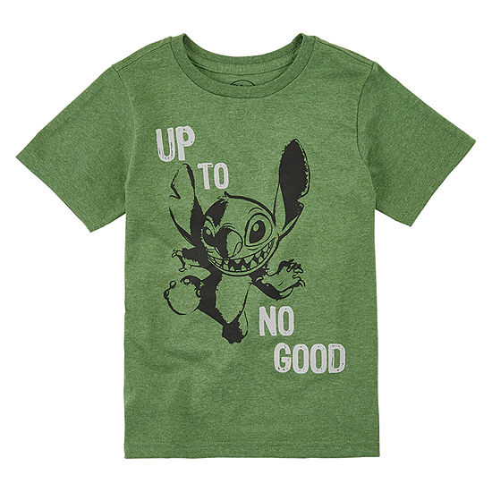 Disney Stitch Graphic T-Shirt Boys