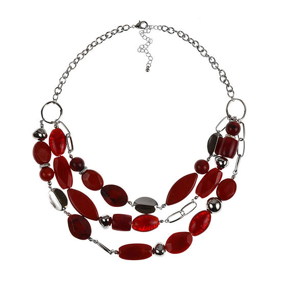 Mixit 20 Inch Cable Beaded Necklace