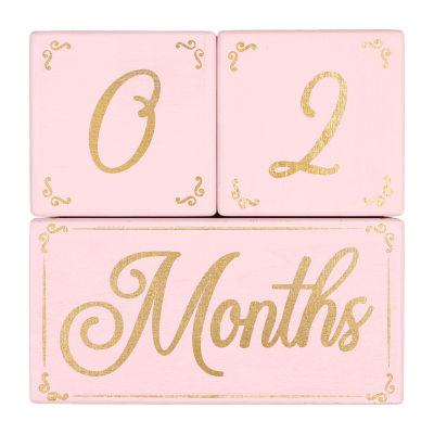 The Peanutshell 3-pc. Baby Milestones - Girls