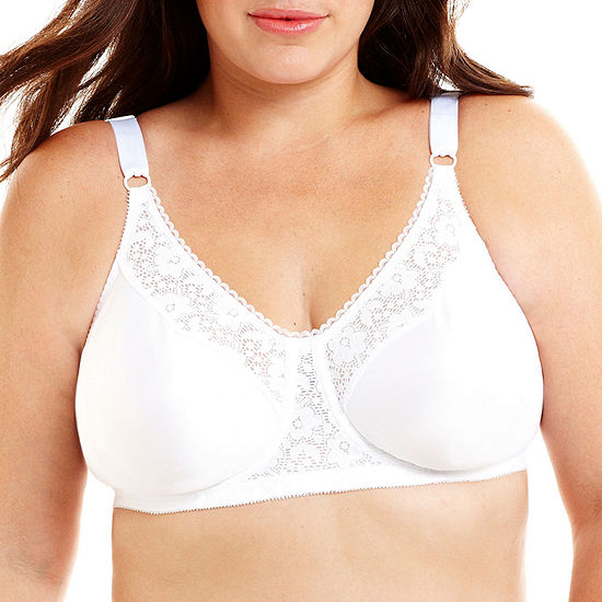 5668d0e84 Underscore Lace Trim Underwire Unlined Full Coverage Bra JCPenney