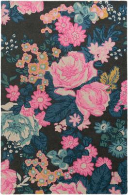 Seamus Multi-Colored Floral Area Rug