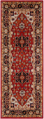 Stilda Red Medallion Runner