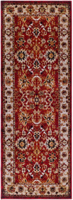 Szoburth Red-Brown Damask Runner