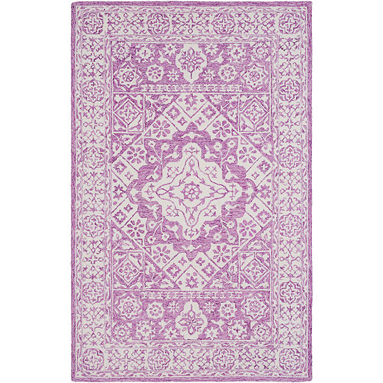 Timo Green Medallion Area Rug