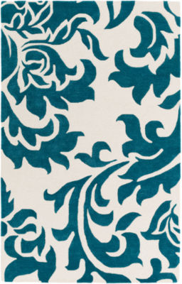 Vallotton Floral Area Rug