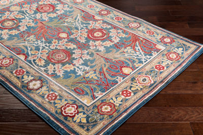 Zain Damask Area Rug