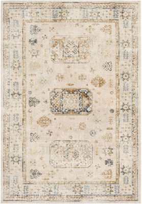 Vishal Damask Area Rug