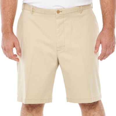 IZOD Saltwater Stretch Chino Shorts-Big and Tall