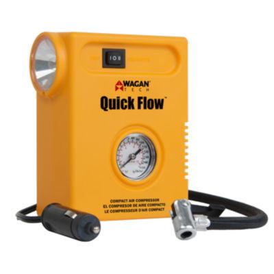 Wagan Tech 2020 14 Amp 12 Volt Yellow Quick Flow Compact Air Compressor