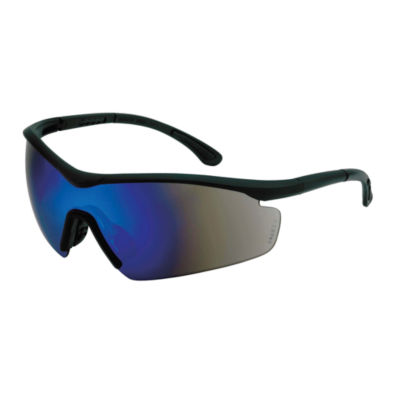 Maxpower 336716 Black & Blue Safety Sunglasses